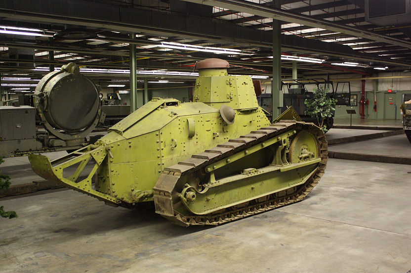 m1917 light tank basically us produced renault ft 17 very rare sice