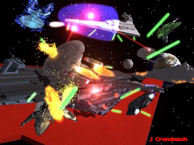 Star Wars vs Star Trek Fanfic: Conquest Chapter Ten: Onslaught